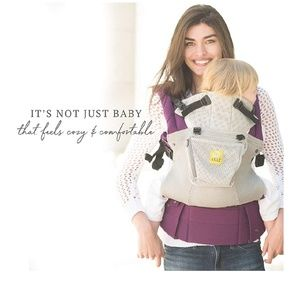 Lille Baby carrier in the color 💜Purple Mist💜